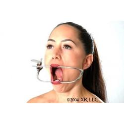 Kieferspreizer wie beim Zahnarzt mit Raste