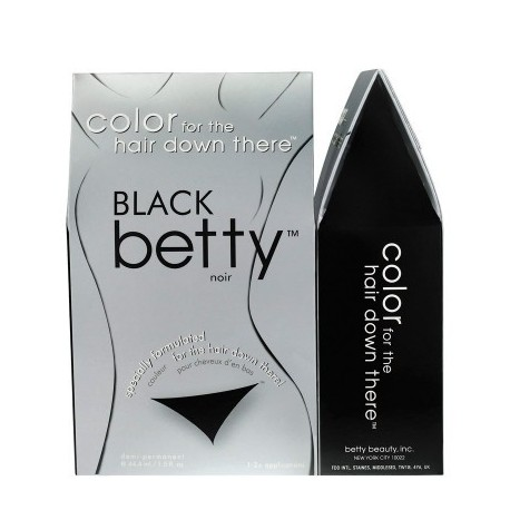 Betty Beauty Colorationsset – Färbungsmittel für den Schambereich, Schamhaare