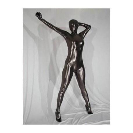 CatSuit FullBody : Spandex-Latex brillant