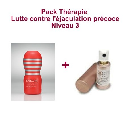 Therapie Pack - Kampf gegen vorzeitige Ejakulation - Level 3