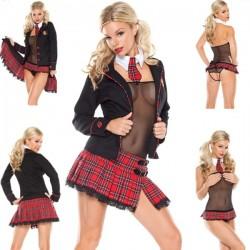 Verkleidung: Sexy Schulmädchen, Gymnasiastin