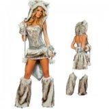 Wölfinnen-Kostüm, Sexy Wolfs-Kostüm für Frauen