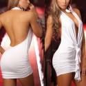 Weißes Kleid Actor Studio - Extra rückenfrei