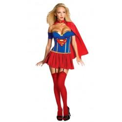 Sexy SuperMan SuperWoman Kostüm für Frauen