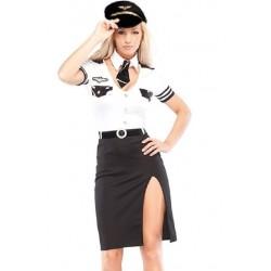 Kapitänin Kostüm für sexy Frauen