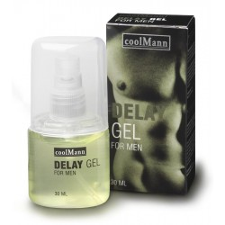 coolMann Delay Gel – Ejakulationsverzögerndes Gel