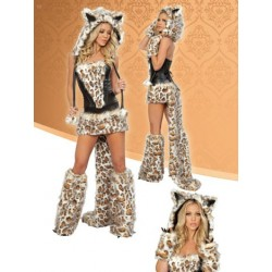 Kostüm, Verkleidung als Leopardin