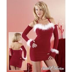Hautenges Kleid - Sexy Weihnachtsfrau