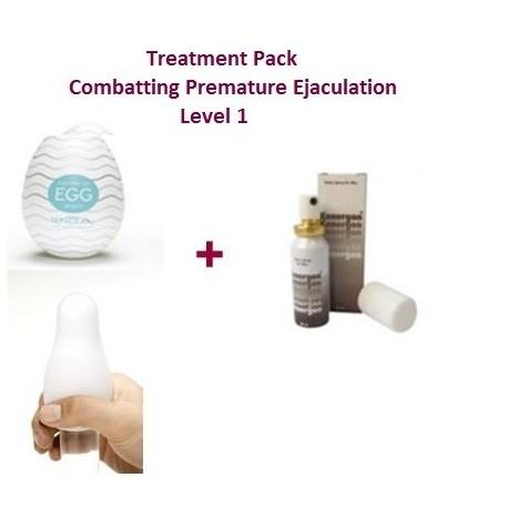 Therapiepaket - Kampf dem vorzeitigen Samenerguss – Stufe 1 – leicht kontrollierbar