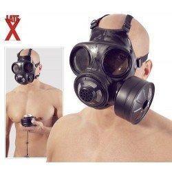 Gasmaske aus Latex: Kanadisch/Dänisch