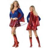 SuperGirl - Sexy Superheldinnen-Kostüm für sexy Frauen