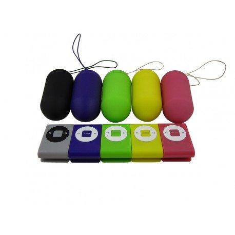 Vibrator-Ei mit Fernbedienung - Simply Colors