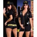 Sexy Polizistinnen-Verkleidung