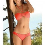 Bikini: Sinnlicher Bikini in Orange