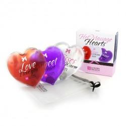 LoversPremium - 3 Massage-Herzen-Wärmekissen