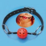 Ball Gag – Bondage Ballknebel – Ball mit Luftlöchern