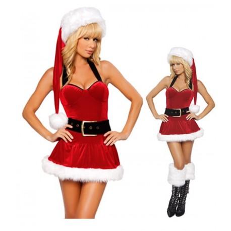 Dekolleté-Kleid - Weihnachtsfrau wo bist du?