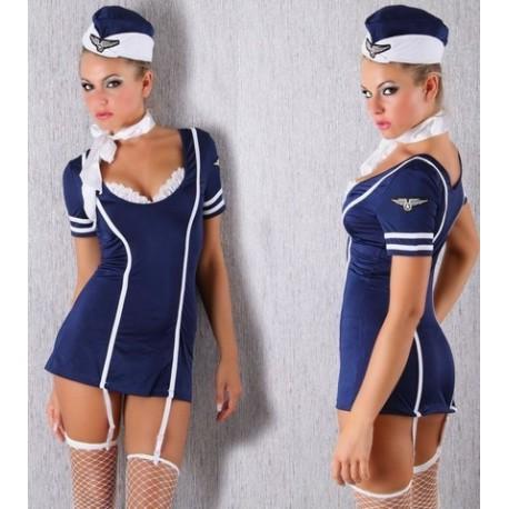 Stewardess-Kostüm Sexy Stewardess