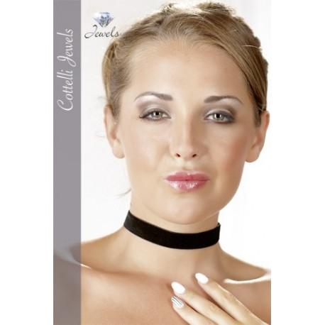 Halsband aus schwarzem Samt - Sexy