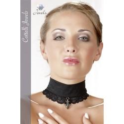 Halsband - Spitze und sexy Anhänger