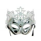 Venezianische Augenmaske - Eiskönigin