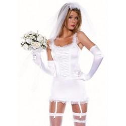 Sexy Braut-Nachthemd