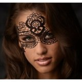 Glamour Black Lace Maske