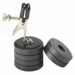 Brustwarzenklemme - magnetisches Gewicht