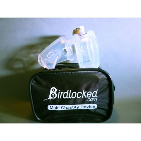 """Keuschheitskäfig """"BirdLocked"""" aus Silikon – verfügbar in 2 Durchmessern"""