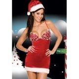 Nachthemd Xmas Weihnachtsfrau Diamonds