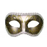 S&M-Augenmaske – Grey Masquerade – Eyes Wide Shut