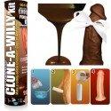 Clone a Willy Set – Abguss Ihres Penis : Vibrator, vibrierender Dildo / Schokolade / Kerze / Seife