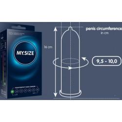 My.Size – Kondome passen sich der Penisgröße an – 7 Größen