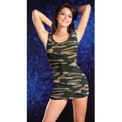 Sexy Kleid Tarnung Militärkostüm
