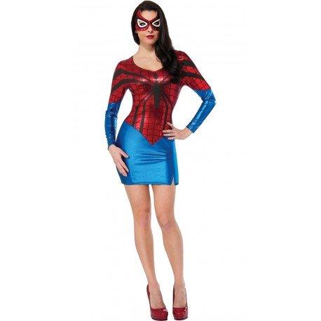 Kostüm - Hautenges Kleid - SpiderWoman