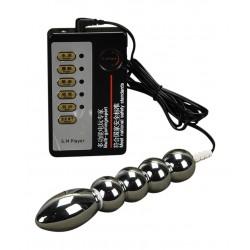 Anal & Vaginal Metall Dildo für Elektrostimulation - Elektrosex