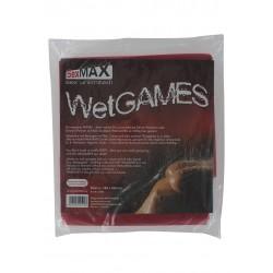 SexMax Betttuch WetGame - Vinyl-Laken für Sex-Spiele - 180x220