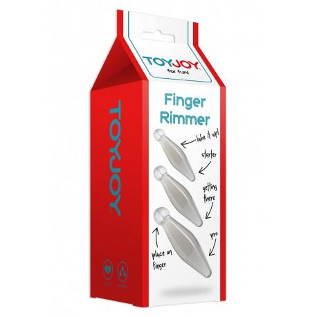 Set mit 3 Anal Plugs für Sodomie Anfänger - The Finger Rimmer