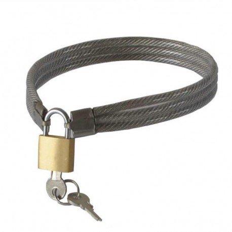 SM-Unterwerfungshalsband aus geflochtenem Metalldraht