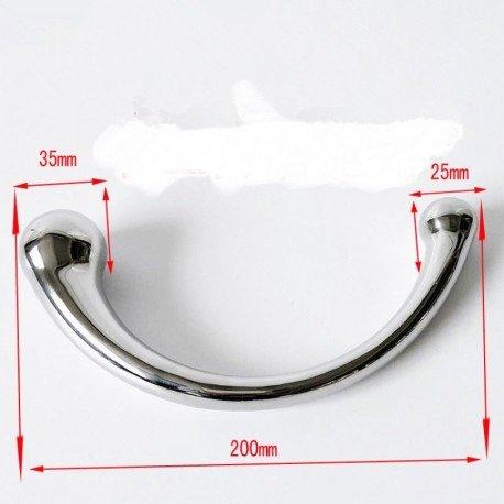 Metalldildo G Punkt Stimulation