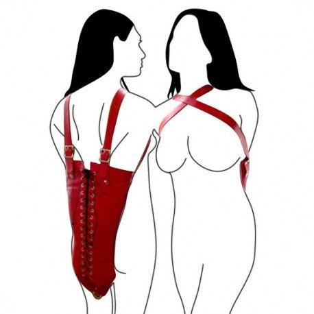 ArmBinder - Monohandschuh für die Arme mit Schnüren