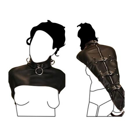 ArmBinder – Monohandschuh – Bondage – aus weichem Leder