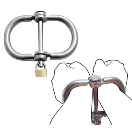 Handschellen Irish 8 aus Metall BDSM