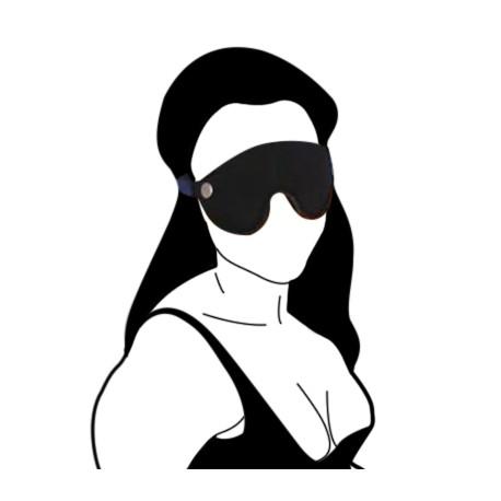 BDSM-Augenmaske aus Leder