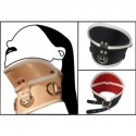 BDSM Positionshalsband - De Luxe