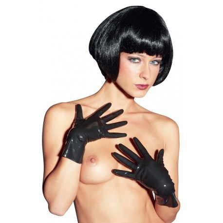 Gants en latex brillants