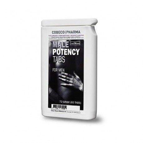 Gélules érection Male Potency Tab de Coolman pour bander dur