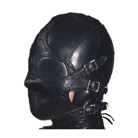 Hood vollständig geschlossen SM Leder Bondage BDSM modularen