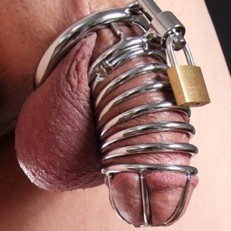 Die Schlange - Keuschheitsgürtel für Männer röhrenförmigen