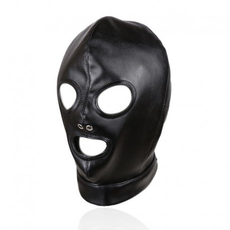 Leather Headgear Bondage